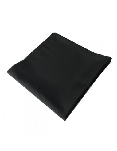 Serviette tissu noir