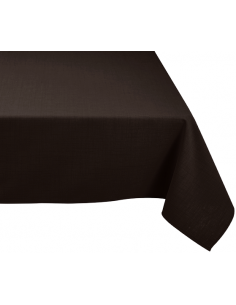 Nappe rectangle noir
