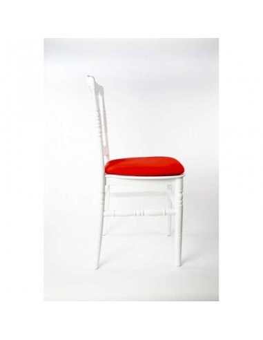 Chaise Prestige assise rouge