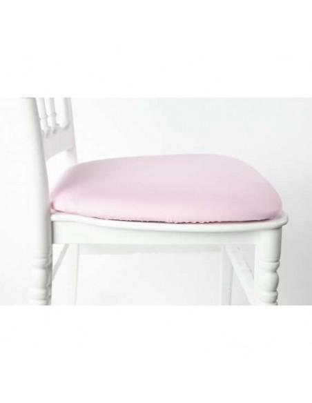 Assise chaise napoléon rose pâle