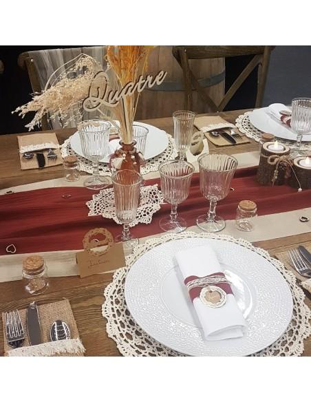 Table décoration vintage et rétro