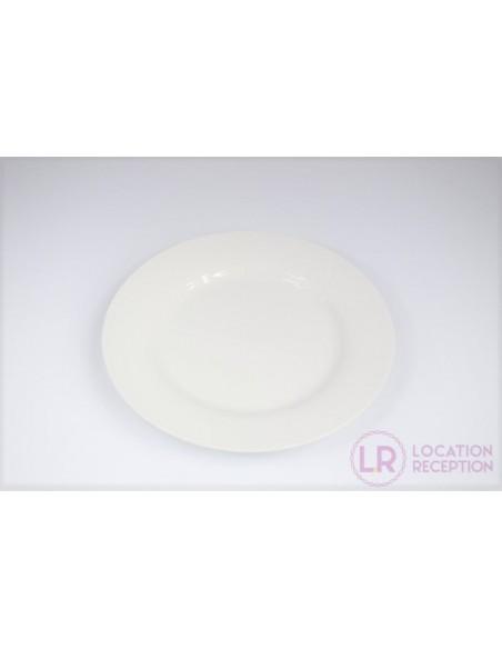 Assiette White 24 cm