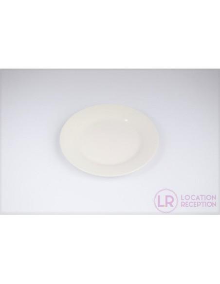 Assiette White 19 cm