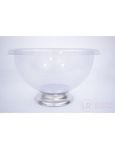 Vasque à cocktail transparente