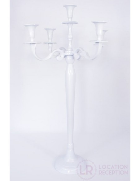 chandelier blanc 70 cm