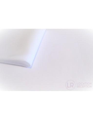 Nappe tissu en location 2.40 x 2.40 m
